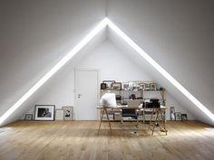 20 best loft skråtak images attic loft attic spaces home decor