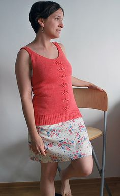 Ravelry: Orange Blossom Camisole pattern by Adriana Hernandez