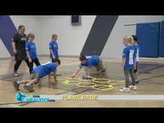 Plank Race - Great way to work on core strength and balance