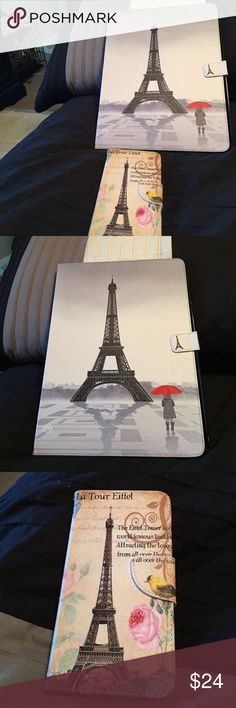 iPad Pro. 12.9 and iPhone 6splus Beautiful Paris Eiffel Tower on both cases , it is new other Accessories Phone Cases