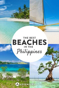 Philippines Travel | Looking for travel inspiration? Check out this article on the best beaches to visit in the Philippines, including in Palawan, Boracay, and Cebu.