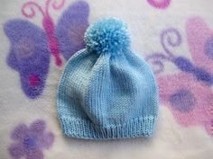 Easy and Basic Baby Hat! Free Knitting Pattern with How to Knit Step-by-Step Videos. | hubpages