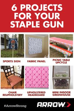 Here Are 6 DIY And Home Improvement Projects You Can Use Your Arrow Staple  Gun For