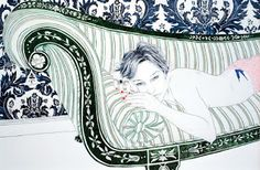 New York artist Hope Gangloff works predominantly with pen and ink on paper, using reference photographs she takes of her friends. Description from zainteriora.net. I searched for this on bing.com/images