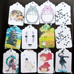 Miyazaki Collection Gift Tags (set of 12) | Community Post: 17 Must-Have Studio Ghibli Gifts