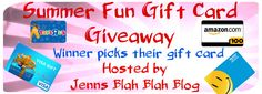 Don't miss your chance to #win a $100 gift card to anywhere you want it... Visa, Walmart, AMEX, Toys R Us Target, Gas Card... we don't care you win you choose..  Awesome #giveaways and #sweepstakes