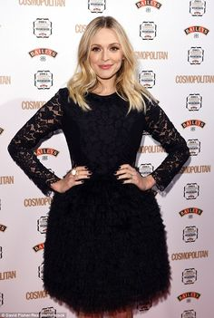 Hostess with the most: Fearne was due to present the show on behalf of Cosmopolitan
