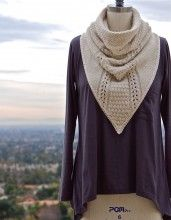 Cowboy Cowl - love the shape of this cowl pattern!