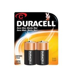 Duracell, the leading battery manufacturer, introduces an advanced power, 2 x C batteries that are suitable for low drain devices. The alkaline batteries have a capacity of 7.75Ah. The batteries are long lasting giving a reliable performance. Now you can charge up your toys, games, radios and torches with the trusted Duracell batteries.