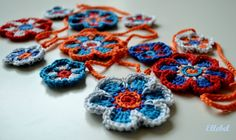 flower bunting nice and bright