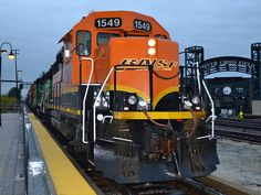 Local flavor - BNSF GP28M 1549 leads the L-CHI102 local west through Joliet, IL.