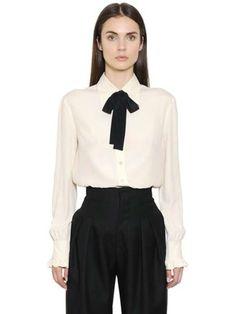 Camicia con fiocco tendenza moda Autunno-Inverno 2015-2016 - Philosophy camicia con fiocco