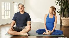 Deepak Chopra's Yoga Sequence to Reach Higher Consciousness. Connect to higher consciousness and reach your full potential with this heart- and mind-opening asana and pranayama practice. #chopra #yoga