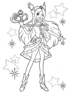 pretty cure coloring pages - Google Search | Coloring pages ...