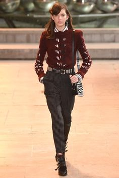 Isabel Marant Fall 2016 Ready-to-Wear Fashion Show
