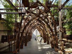 Galeria de Floresta de Bambu / Vo Trong Nghia Architects - 7