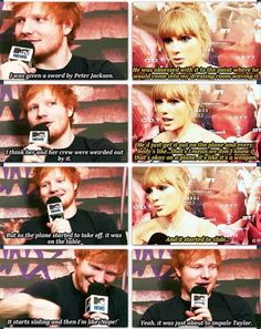 The Time Ed Sheeran Almost Killed Taylor Swift....lol
