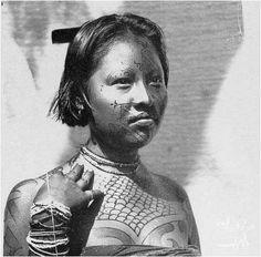 pintura corporal indigena - Pesquisa Google