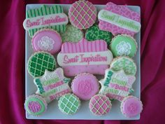Sweet Inspirations Cookie Platter! Check her out: www.facebook.com/mlsweettreats