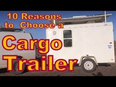 For many people, buying a cargo trailer to live is a better choice than buying an RV. I know that sounds ridiculous, but I hope by the time you've seen the w. Small Cargo Trailers, Small Rv Campers, Rv Trailers, Vintage Trailers, Cargo Trailer Camper Conversion, Bus Camper, Bug Out Trailer, Cheap Rv, Buying An Rv