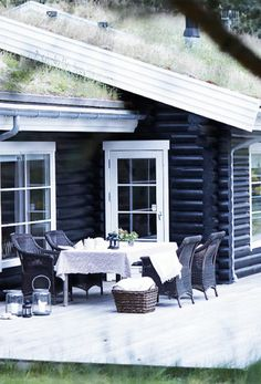 Scandinavian Log House