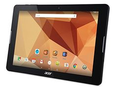 Acer 10.1 inches  Tablet Iconia One 10 - B3-A20 MediaTek MT8163 A53 1GB  16GB EMMC Touchscreen Android 5.1 Lollipop  Black
