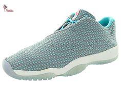 Nike , Basses mixte enfant - Gris - Wolf Grey Hot Lava Blue White, 22 EU - Chaussures nike (*Partner-Link)