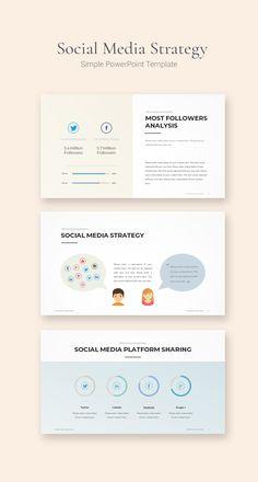 소셜 미디어 전략 ppt템플릿  #SNS #SocialMedia #SocialMediaStrategy #소셜미디어전략 #SNS전략 #ppt템플릿 #파워포인트템플릿 #깔끔한ppt템플릿 #파워포인트디자인 #깔끔한ppt #피피티샵 Simple Powerpoint Templates, Powerpoint Presentation Slides, Design Presentation, Presentation Folder, Presentation Templates, Web Design, Slide Design, Flyer Design, Graphic Design