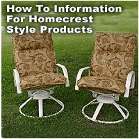 The Best Resource For Cushions, Slings And Outdoor Furniture Repair!