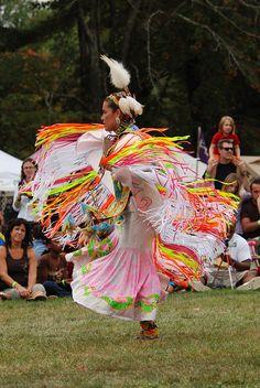 Pow WoW Fancy Dance | ... Native American Arts Council Pow Wow — Women's Fancy Shawl Dancer