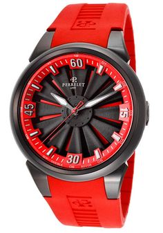 Red Hot! ~ Perrelet Turbine Watch