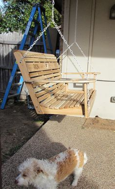Wilker Do's: DIY Porch Swing