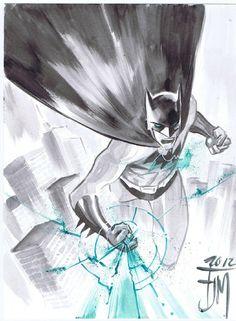 Green Lantern Batman by Francis Manapul