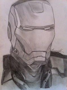 Iron man - pencil - 2011