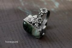 ring art nuvo silver sterling by honeypunk