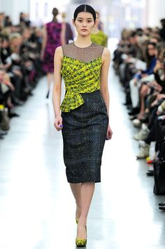 Another great Erdem look (Fall 2012).