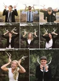 groomsman with antlers - Google Search