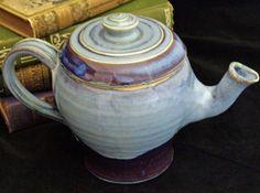 stoneware teapot #pottery #tea