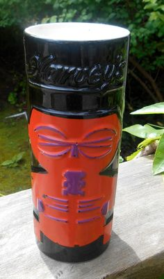 Sneaky Tiki, Harvey's Casino, Lake Tahoe souvenir. Looks like a Tiki Elvis to me.