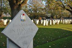 Flanders Fields -- Essex Farm Cemetery Site of John McCrae's penning famous poem Essex Farm, Victoria's Children, Queen Victoria Children, Travel Planner, Trip Planner, Famous Poems, Flanders Field, Sustainable Tourism, The Visitors