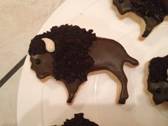 bison sugar cookies - Google Search | Party cakes | Pinterest | Sugar Cookies, Sugar and Cookies