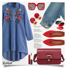 """Floral denim!"" by samra-bv ❤ liked on Polyvore featuring Rituel de Fille, John Lewis and Dolce&Gabbana"