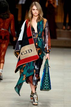 Burberry Prorsum: Rich Tapestry.  See fall 2014's hottest trends straight from the runway. Click here for more styles.