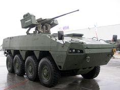 Финские колесные бронированные универсальные модульные машины Patria AMV