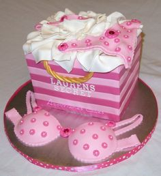 bachorlett shower themes | Sweet Mischief Ja Cake Ideas: Lingerie Cakes...TOO CUTE!!!!