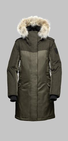 Nobis The Abby - Ladies Knee Length Parka Winter Parka 3c6ccfa107a6