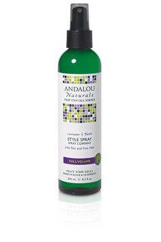 Andalou Naturals BTS Essential: Lavender & Biotin Full Volume Style Spray  #andalounaturals #backtoschool #pintowin