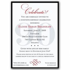 Silver 90th birthday invitations then now photos 90th birthday 90th birthday invitation wording ideas stopboris Images