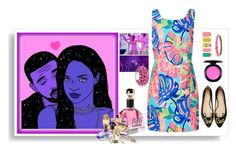 """Rihanna & Drake"" by belldraw ❤ liked on Polyvore featuring Lilly Pulitzer, Vanguard, Kate Spade, MAC Cosmetics, Tattify, Bling Jewelry, Alexis Bittar, DRAKE and Rihanna"