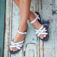 Dreaming of a white (& strappy) summer.